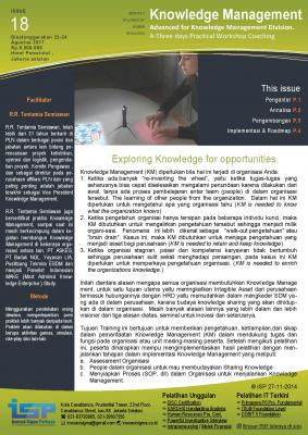 Knowledge Management - Advanced, Training , INOVASI SIGMA PERKASA